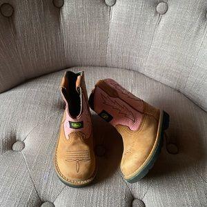 John Deere Toddler Girl Boots